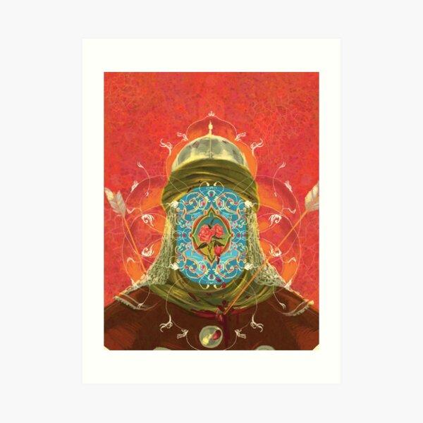 Imam Hussein Art Print