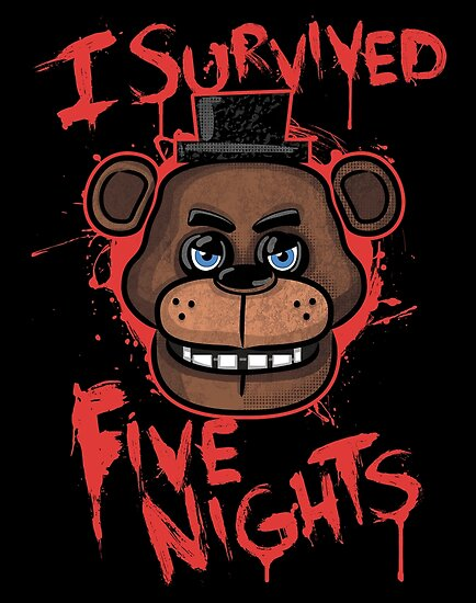 Quot I Survived Five Nights At Freddy S Pizzeria Quot Posters By