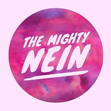 Mighty Nein Retro Logo - Lavender by JMendezArt