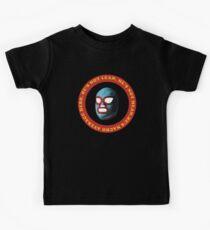 Er ist Nacho Average Hero Kinder T-Shirt