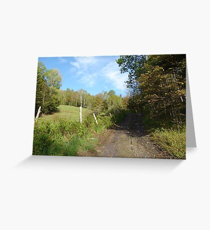 Path to the Swimming Hole Greeting Card