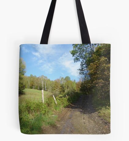 Path to the Swimming Hole Tote Bag