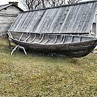 The old boat on Gotland by hans peðer alfreð olsen