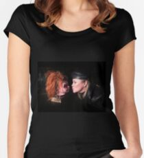 Cult of Chucky - Kyle & Chucky Women's Fitted Scoop T-Shirt