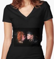 Cult of Chucky - Kyle & Chucky Fitted V-Neck T-Shirt