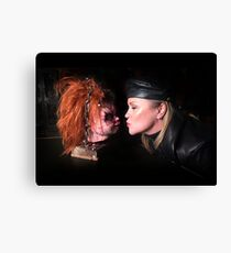 Cult of Chucky - Kyle & Chucky Canvas Print