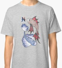 Ballpoint Pisces Classic T-Shirt