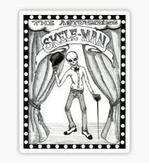 The Astounding Skele-Man Sticker
