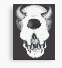 Cyclops Skull Canvas Print