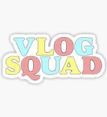 Vlog Squad Logo Sticker