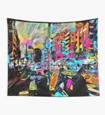 Street Streamers Wall Tapestry