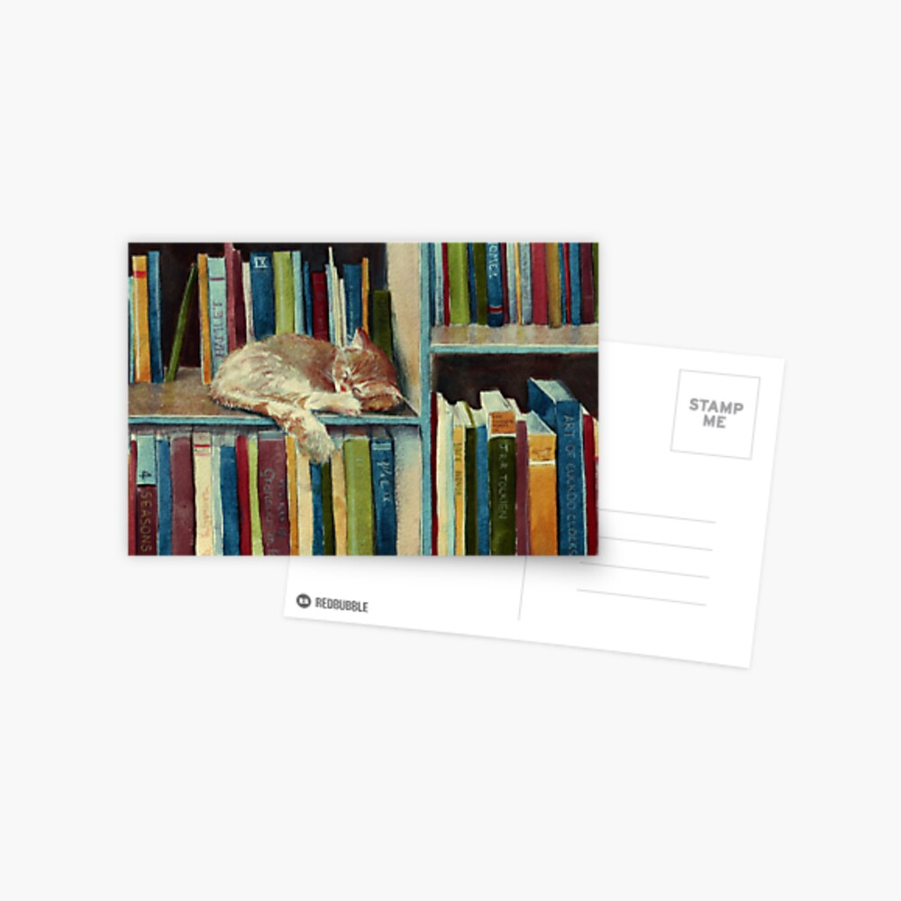 Quite Well Read Postcard