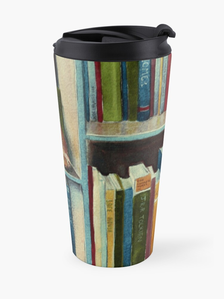Alternate view of Quite Well Read Travel Mug