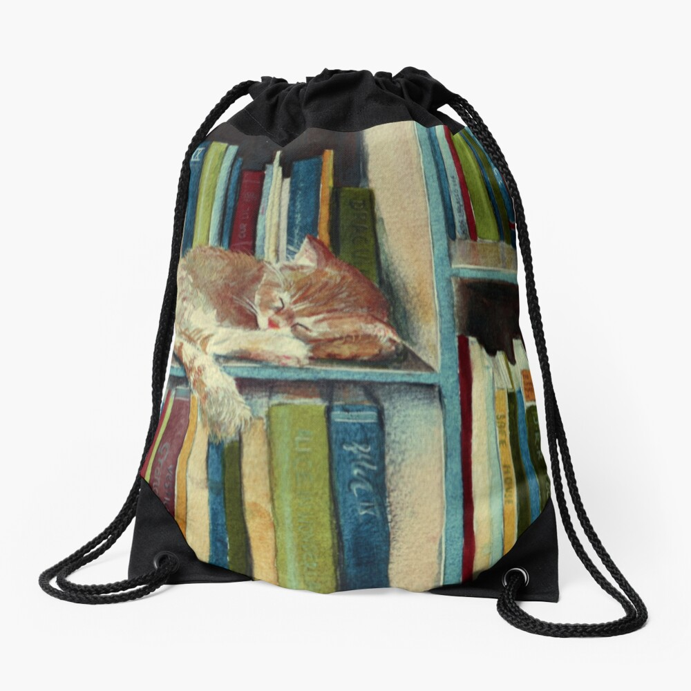 Quite Well Read Drawstring Bag