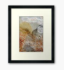 Landscape in Metal ~ Japan Framed Print