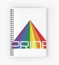 I wear it with pride! Spiral Notebook
