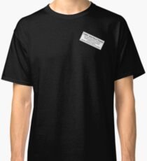 Care Instructions - Whisky Classic T-Shirt