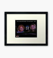 Child's Play 2 - Kyle & Chucky Framed Print
