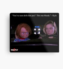 Child's Play 2 - Kyle & Chucky Metal Print