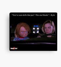 Child's Play 2 - Kyle & Chucky Canvas Print