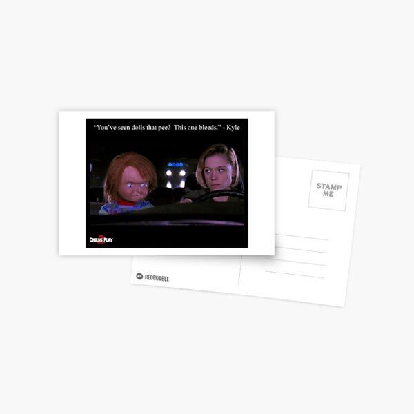Child's Play 2 - Kyle & Chucky Postcard