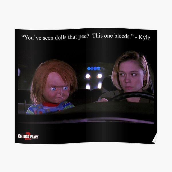 Child's Play 2 - Kyle & Chucky Poster
