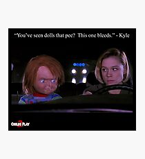 Child's Play 2 - Kyle & Chucky Photographic Print