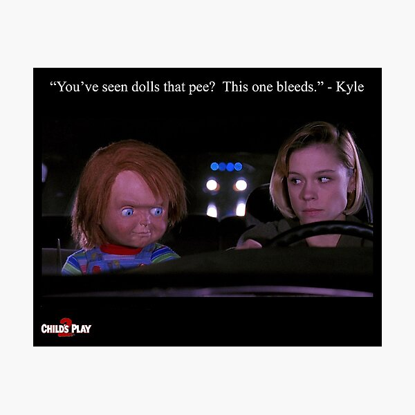 Child's Play 2 - Kyle & Chucky Photographic Print