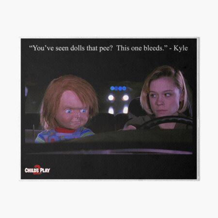 Child's Play 2 - Kyle & Chucky Art Board Print