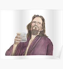 "Jeffrey ""the Dude"" Lebowski Poster"