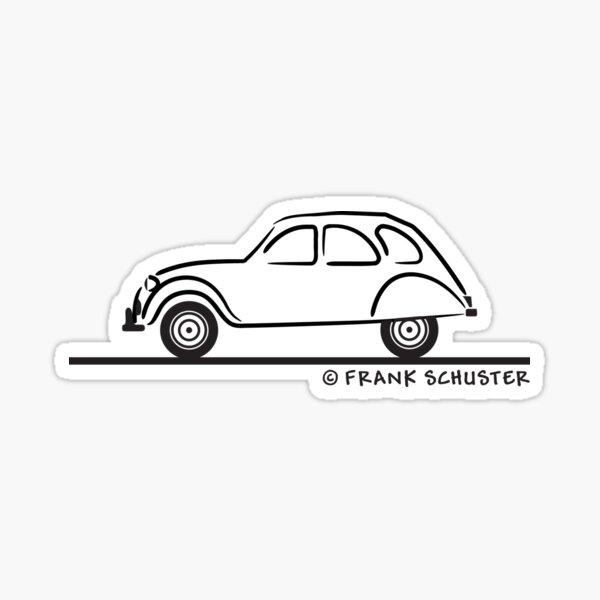 Citroën 2CV Sticker