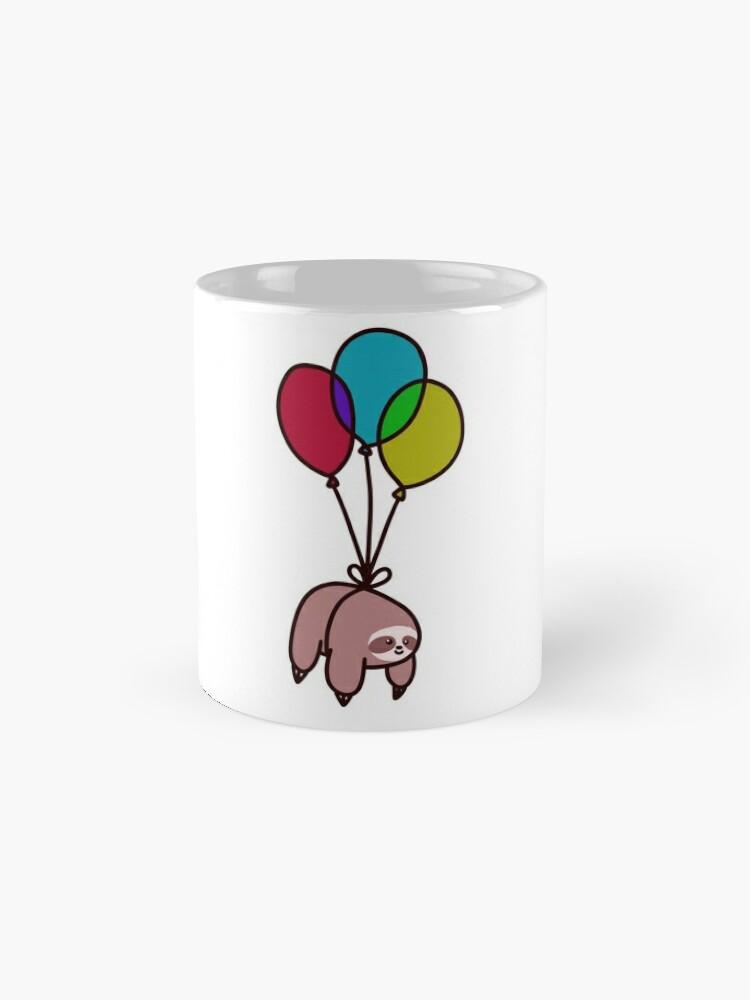 Alternate view of Balloon Sloth Mug