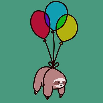 Balloon Sloth by SaradaBoru
