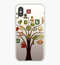 Networks Tree iPhone Case