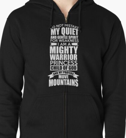 Do Not Mistake My Quiet and Gentle Spirit! T-Shirt