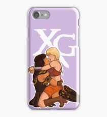 Xena and Gabrielle: Tongue iPhone Case/Skin