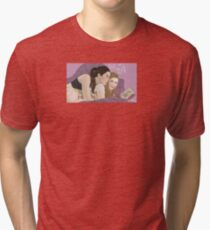 Cora and Lydia Tri-blend T-Shirt