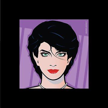 Pop Art Beautiful Woman Annie Pop Art Girl by azoid