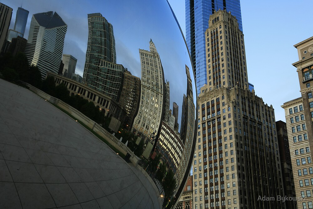 Chicago in a Bubble by Adam Bykowski