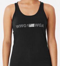 WWG1WGA - Wohin wir gehen, wir gehen alle (grau) Tanktop für Frauen