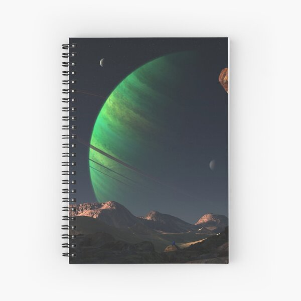 Endymion Spiral Notebook