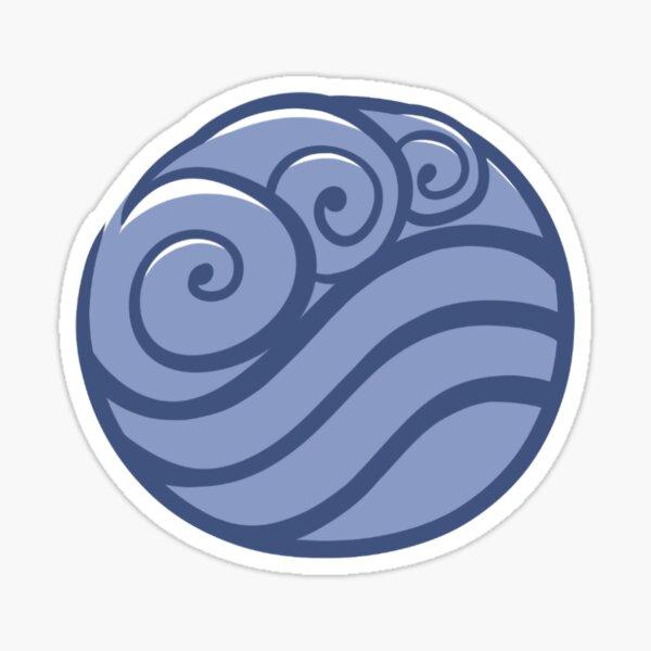 Water Tribe Symbol Sticker