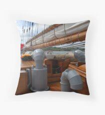 Bluenose ll - Lunenburg, Nova Scotia Throw Pillow