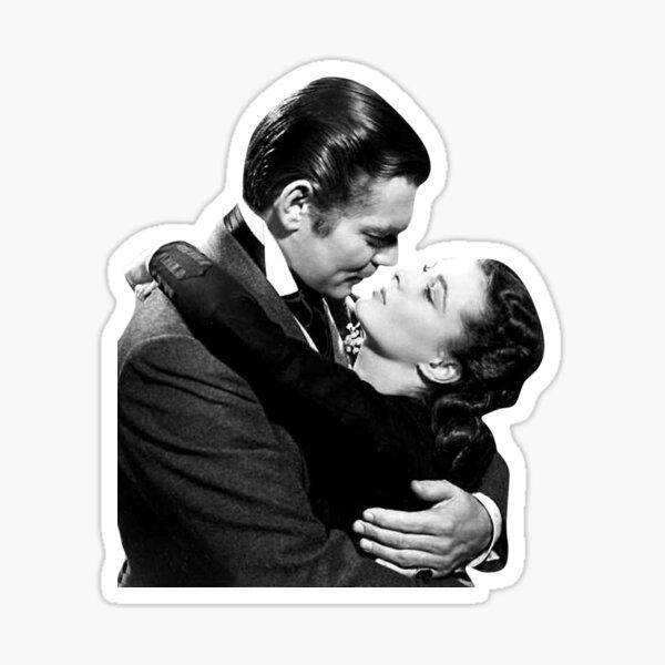 Clark Gable Sticker Sticker