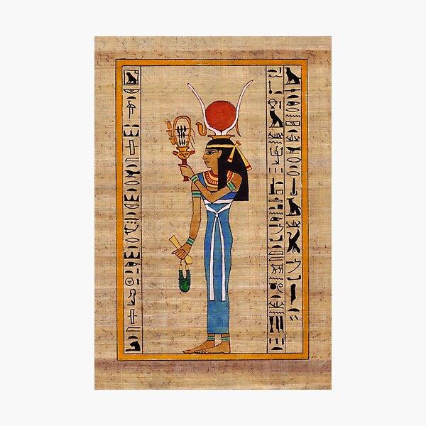 Hathor, Lady of Amentet Photographic Print