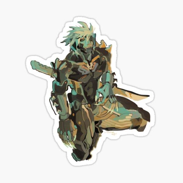 Raiden (MGS) Sticker