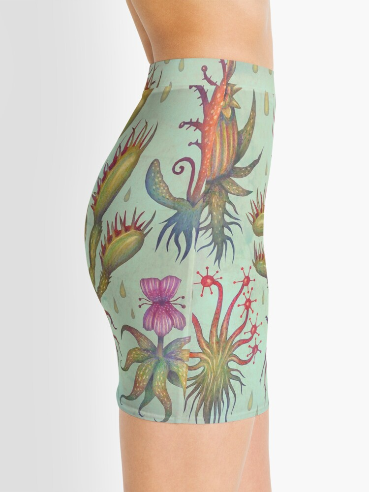 Alternate view of Carnivorous plants Mini Skirt