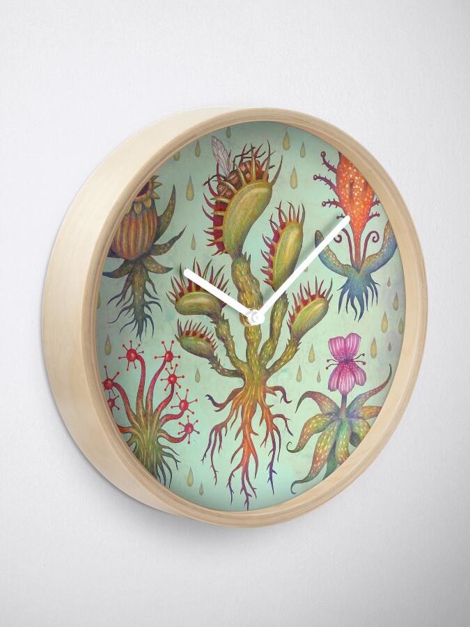 Alternate view of Carnivorous plants Clock