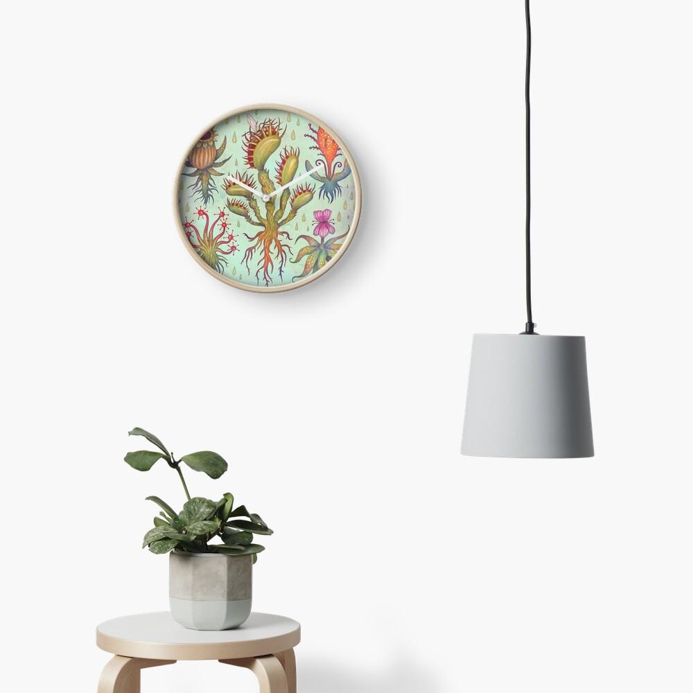 Carnivorous plants Clock