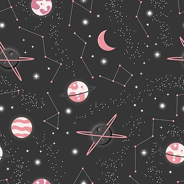 Pink Planets by ninthstreet